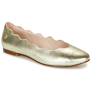 Shoes Women Ballerinas Betty London MARTA Gold