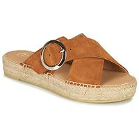 Shoes Women Mules Betty London MARIZETTE Cognac