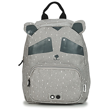 Bags Children Rucksacks TRIXIE MISTER RACCOON Grey