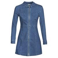material Women Short Dresses Noisy May NMLISA Blue / Medium