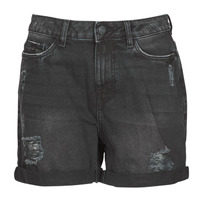 material Women Shorts / Bermudas Noisy May NMSMILEY Black
