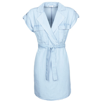 material Women Short Dresses Noisy May NMVERA Blue / Clear