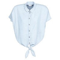 material Women Shirts Noisy May NMGARY Blue / Clear