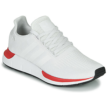 Shoes Men Low top trainers adidas Originals SWIFT RUN White / Red