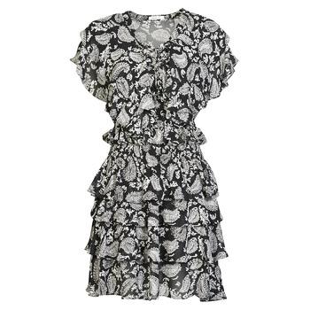 material Women Short Dresses Replay  Black / White