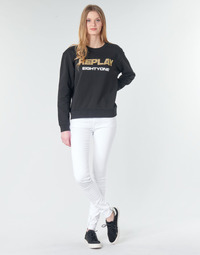 material Women Skinny jeans Replay LUZ White