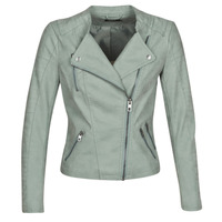material Women Leather jackets / Imitation le Only ONLAVA Green