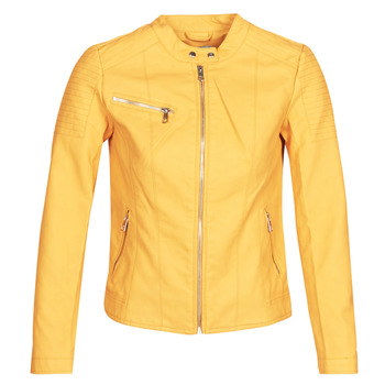 material Women Leather jackets / Imitation le Only ONLMELANIE Yellow