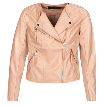 material Women Leather jackets / Imitation le Vero Moda VMRIA FAV Pink