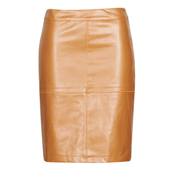 material Women Skirts Betty London MILDA Cognac