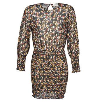 material Women Short Dresses Moony Mood FOUTILA Black