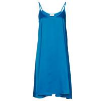 material Women Short Dresses Moony Mood MOLETTE Blue