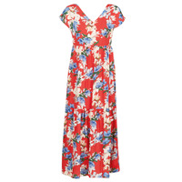 material Women Long Dresses Betty London MALIN Red / White / Blue
