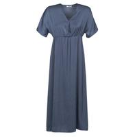 material Women Long Dresses Betty London MOUDA Marine