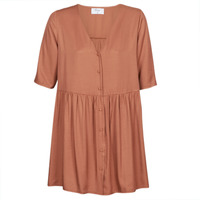 material Women Short Dresses Betty London  Brown