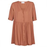 material Women Short Dresses Betty London MOUDENE Brown