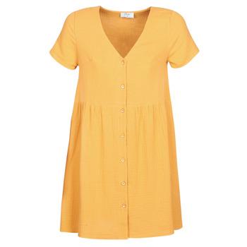 material Women Short Dresses Betty London MARDI Yellow