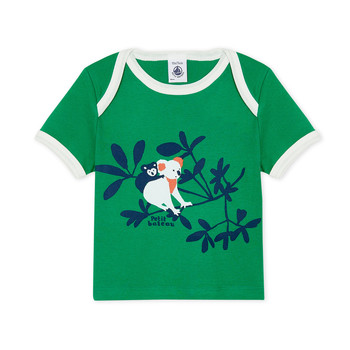 material Boy short-sleeved t-shirts Petit Bateau FENDI Green