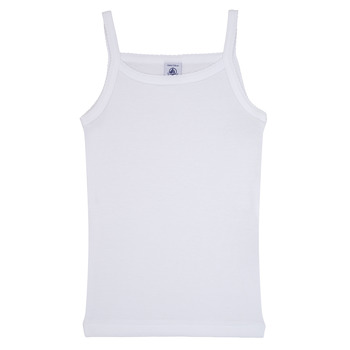 material Girl Tops / Sleeveless T-shirts Petit Bateau  White