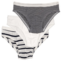 Underwear Girl Knickers/panties Petit Bateau 53347 White / Blue