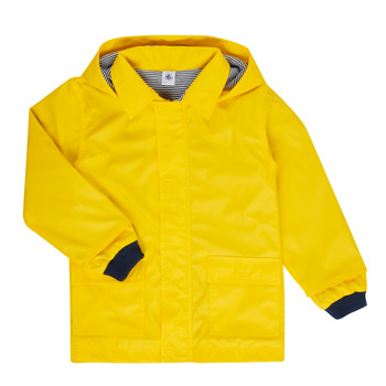 material Children Parkas Petit Bateau FATAH Yellow
