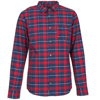 material Men long-sleeved shirts Rip Curl CONNECTION Red / Blue