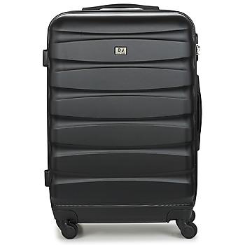 Bags Hard Suitcases David Jones CHAUVETTINI 72L Black
