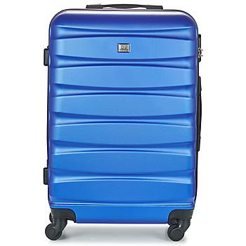 Bags Hard Suitcases David Jones CHAUVETTINI 72L Marine