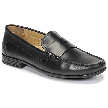 Shoes Men Loafers André OFFICE Black