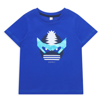 material Girl short-sleeved t-shirts Esprit ENORA Blue