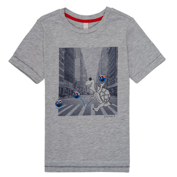 material Boy short-sleeved t-shirts Esprit EMA Grey