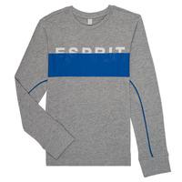 material Boy Long sleeved shirts Esprit FABIOLA Grey