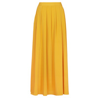 material Women Skirts Betty London MERCI Yellow