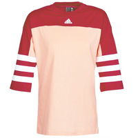 material Women short-sleeved t-shirts adidas Performance W SID JERSEY Red