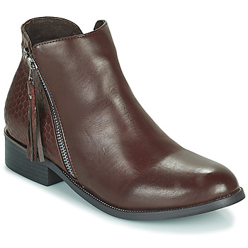 Shoes Women Mid boots Xti  Brown