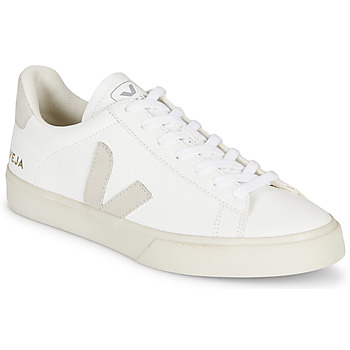 Shoes Low top trainers Veja CAMPO White / Grey