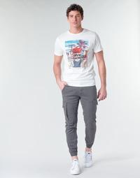 material Men Cargo trousers Jack & Jones JJIPAUL Grey