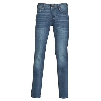 material Men slim jeans Jack & Jones JJITIM Blue / Dark