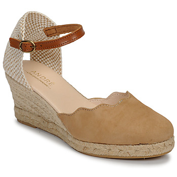 Shoes Women Sandals André BABI Taupe