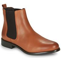 Shoes Women Mid boots André CARAMEL Cognac