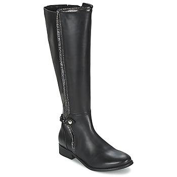 Shoes Women Boots Regard ROBALO Black
