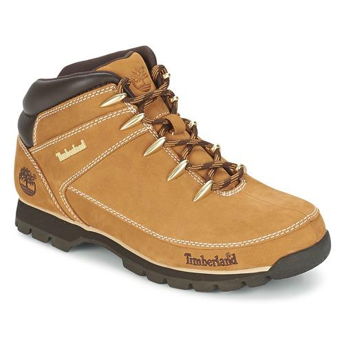 Shoes Men Mid boots Timberland EURO SPRINT HIKER Beige