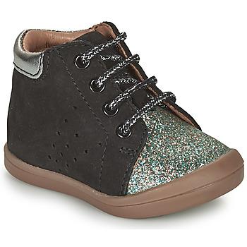 Shoes Girl High top trainers GBB NAHIA Black
