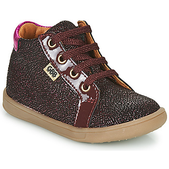 Shoes Girl High top trainers GBB FAMIA Bordeaux