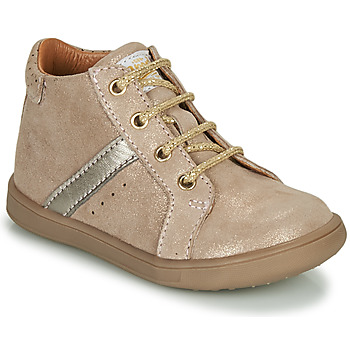 Shoes Girl Mid boots GBB AGLAE Beige