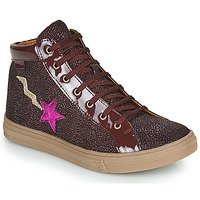 Shoes Girl High top trainers GBB TADEA Red