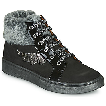 Shoes Girl High top trainers GBB NUMA Black