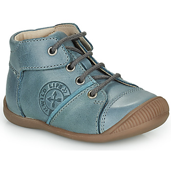 Shoes Boy High top trainers GBB OULOU Blue