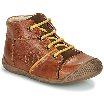 Shoes Boy Mid boots GBB OULOU Brown