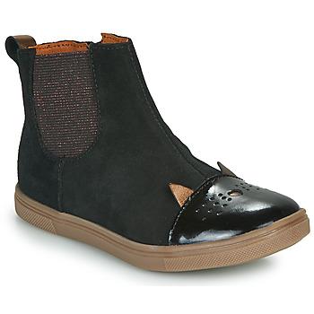 Shoes Girl Mid boots GBB JESSINE Black